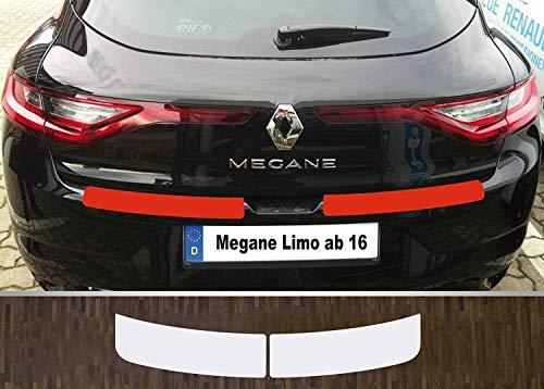 Un Ajustement Parfait pour Renault Mégane 4 Limousine à partir de 2016, Film Protecteur Transparent pour Peinture et Seuil de Chargement