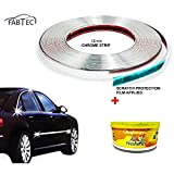 #2: Fabtec Chrome Car Auto Moulding Trim Strip-20M 12mm for Window Bumper with Perfume Combo!