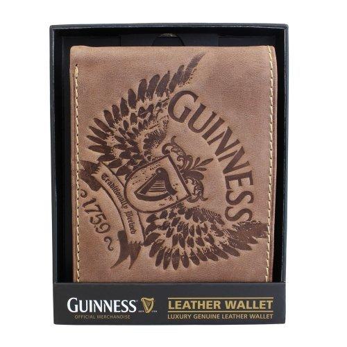 guinness-wings-braun-leder-portemonnaie