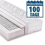 ROLLER Taschenfederkernmatratze Accord 1000 Deluxe - 100x200 cm - H3