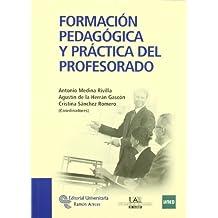 Formación pedagógica y práctica del profesorado (Manuales)