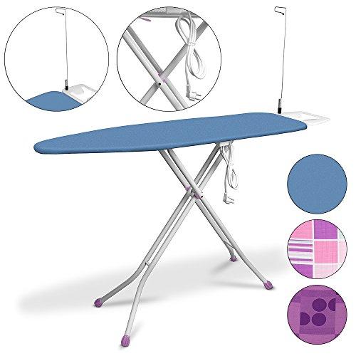 Table à repasser - 140x38cm - Raccordement électrique - Planche...