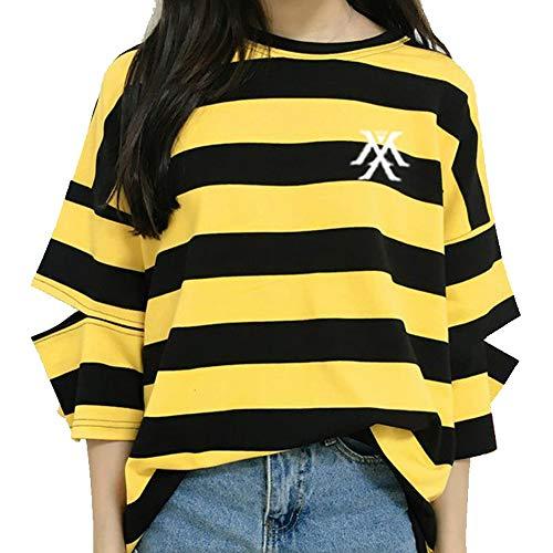 Monsta X KPOP T Shirt Monsta X Camiseta Moda Coreana