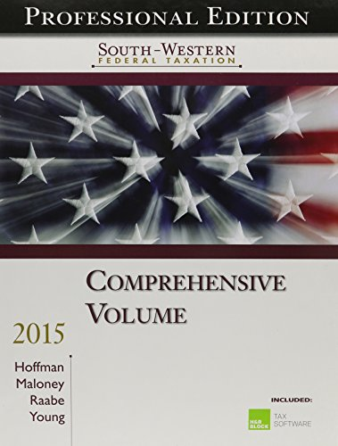 south-western-federal-taxation-2015-comprehensive-professional-edition-with-hr-block-home-tax-prepar