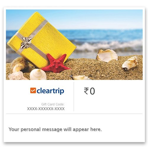 Cleartrip -Instant Voucher: Amazon in: Gift Cards