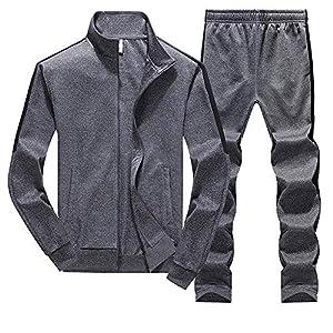 Herren Trainingsanzug Jogginganzug Sportanzug Fitness Sweatjacke Winter Warm Freizeitanzug Streetwear Freitzeithose…