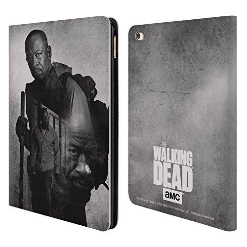 Ufficiale AMC The Walking Dead Morgan Doppia Esposizione Cover a portafoglio in pelle per Apple iPad Air 2