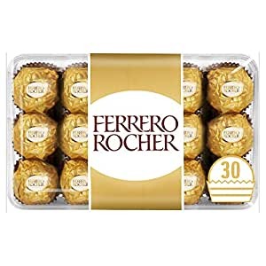 Ferrero Rocher Chocolates 30 Pcs Amazon In Grocery Gourmet Foods