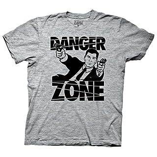 Archer Gun Battle Mens Gray T-Shirt | M