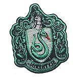 ANGLE Poudlard crête Patch-Harry Potter Glan Fendo Maison, Serdaigle, Hufflepuff, Serpentard Maison Crochet et Boucle Cyclisme Support,4
