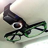 Luxebell Universal Auto Sonnenblende Klipp, Brillen Halter Clip für Sonnenbrille, Tickets, Karte, 360°-Drehung