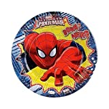 Ultimate Spiderman Paper Plates - Large ...