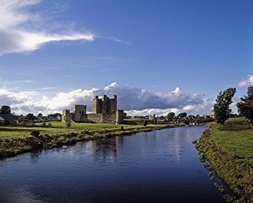 The Irish Image Collection/Design Pics - Trim Castle On The River Boyne County Meath Republic of Ireland Photo Print (81,28 x 60,96 cm) Trim Castle