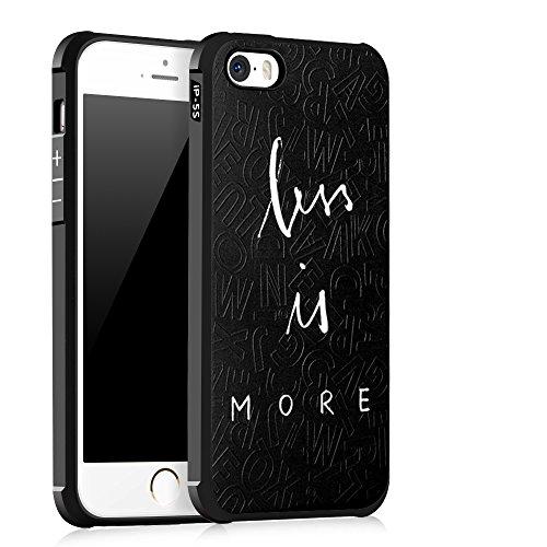 UKDANDANWEI Apple iPhone SE [QKS] TPU 3D Handyhülle Schutzhülle Silikon kratzfeste stoßdämpfende Case für Apple iPhone SE - Stil(03) Stil(04)