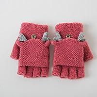 Unbekannt XIAOYAN Handschuhe Frauen Handgelenk Länge Halbe Finger, Zubehör Lässige Winterhandschuhe Warm Halten Mode Winter Bequem