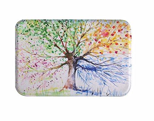 A.Monamour Árbol De Dibujo Colorido Cuatro Estaciones