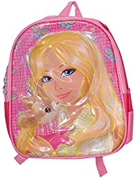 Saamarth Impex Princess Barbie Pink Multi Purpose 5D Bag Children's/ Girls Backpack SI-2788