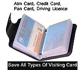 #4: Excellent Unisex Black Card Holder