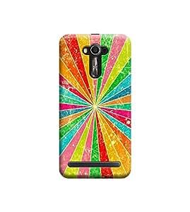 Ebby Premium 3d Desinger Printed Back Case Cover For Asus Zenfone 2 Laser ZE550KL (Premium Desinger Case)