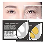Gaddrt Augenmaske 10 Paar Großhandel Neue Kristall Gold Pulver Gel Kollagenaugenmaske Masken Blatt (Gold)