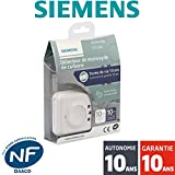 Siemens - Détecteur de monoxyde de carbone (CO) NF Siemens Delta Reflex 5TC1260 Autonomie 10 ans - Garantie 10 ans