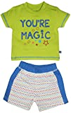 #10: FS Mini Klub Baby Boys Cotton Top and Bottom Set - (6-9 Months) (83171ECitrusGreen6-9M_3)