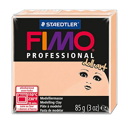 Staedtler 8027-435 - Fimo Professional Doll Art Normalblock, 85 g, cameo