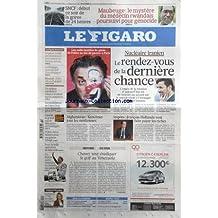 FIGARO (LE) [No 20285] du 19/10/2009 - LES MILLE FACETTES DU GENIE DE FELLINI AU JEU DE PAUME A PARIS - NUCLEAIRE IRANIEN - LE RENDEZ-VOUS DE LA DERNIERE CHANCE - AFGHANISTAN - KOUCHNER JOUE LES MEDIATEURS - IMPOTS - FRANCOIS HOLLANDE VEUT FAIRE PAYER LES RICHES - CHAVEZ VEUT ERADIQUER LE GOLF AU VENEZUELA - L'INVITE - VALERIE PECRESSE - F1 - BUTTON SACRE CHAMPION DU MONDE DES PILOTES - FOOT - LA BELLE OPERATION DE MARSEILLE - POLICE - 2 FICHIERS POUR REMPLACER EDVI