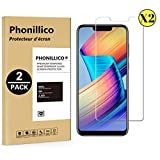 PHONILLICO [Pack de 2] Verre Trempe pour Huawei Honor Play - Film Protection Ecran Verre Trempe Ultra Resistant [Lot de 2] Vitre Ecran Protecteur Anti Rayure sans Bulle d'Air Ultra Mince Transparent
