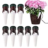 huichang 8 Stück Automatisch Pflanzen Bewässerung, Tonkegel Bewässerungssystem für Keramik Zimmerpflanze, Bonsai, Pflanzen, Blumen