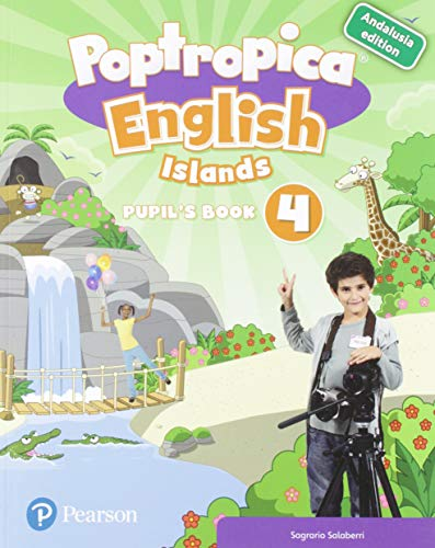 POPTROPICA ENGLISH ISLANDS 4 PUPIL'S BOOK ANDALUSIA