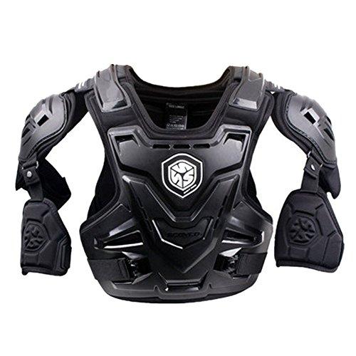 Brustschutz Motorrad Rüstung Sport Dirt Bike Körper Brust Spine Protector Rüstung Weste Schutzausrüstung für Dirtbike Bike Motorrad Motocross Ski Snowboard Pro Adult Motocross Motorrad Körperschutz -