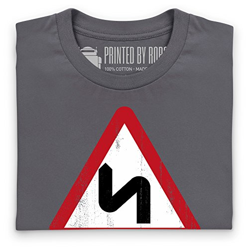 Fun For Ten Miles T-Shirt, Herren Anthrazit
