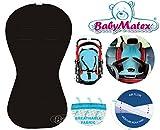 Baby Matex Aero Line Auto Niño Asiento Asiento Asiento para/paddi Air Flow universal Negro