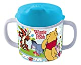 p:os 68939 Trinklernbecher Disney Winnie the Pooh, Melamin/ABS, 200 ml