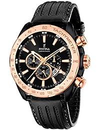 Festina Herren-Armbanduhr Chronograph Quarz Leder F16899/1