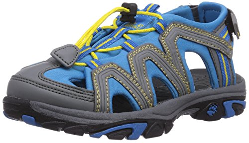 Jack Wolfskin LITTLE PIRATE SANDAL K, Unisex-Kinder Sport- & Outdoor Sandalen, Blau