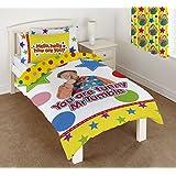 Something Special Mr Tumble Duvet Set, 50 Percent Cotton/50 Percent Polyester, Multi-Colour, Single, 135 x 200 cm
