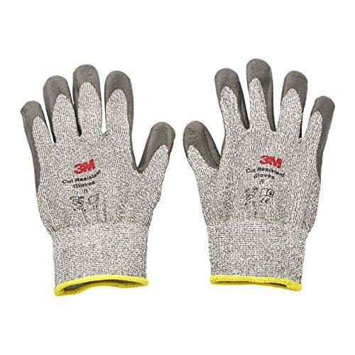 Cgm-cr Comfort Grip Gants - L3 Cut résistant, M, gris, 1