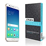 Oppo F3 Plus Screen Protector, Kaira Fiber Tempered Glass Screen Protector for Oppo F3 Plus (REUSABLE, ULTRA CLEAR, REAL SHOCK PROOF)