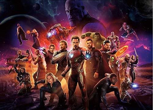 r Hulk Iron Herren Captain America Wandwand Jungen Schlafzimmer jede Wandgröße Spiderman ()