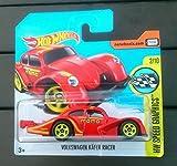 Hot Wheels 2017 HW Speed Graphics Volkswagen Kafer Racer Red 56/365 (Short Card)