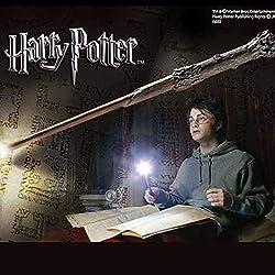 The Noble Collection NN1910 Harry Potter Varita de iluminación, 14 pulgadas