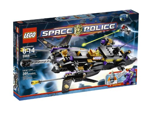 LEGO Space Police Lunar Limo 5984 (japan import)