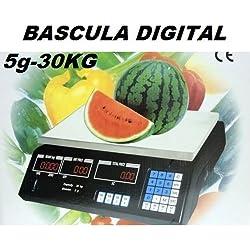 Bilancia digitale per attività commerciali 30KG. - GSH