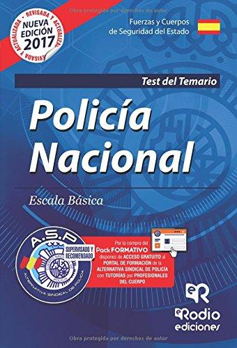 Cuerpo Nacional de Policía. Escala básica. Test del Temario. Cuarta Edición