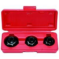KS Tools 150.93653/20,3cm Filtre à huile Socket Set, Tasse, 3pièces pas cher