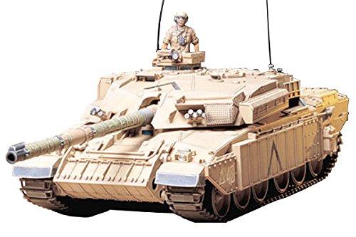 Tamiya 300035154 - modellino di carro armato britannico challenger 1 mk.iii (2), in scala 1:35