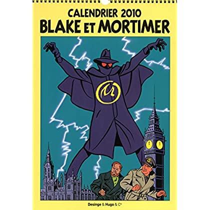 CALENDRIER MURAL BLAKE & MORTIMER 2010