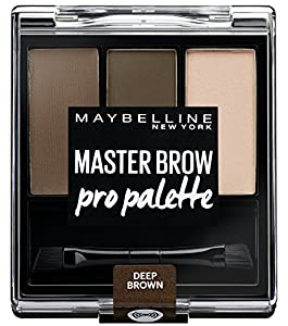 Maybelline Master Brow Pro Palette Kit Deep Brown 3.4g